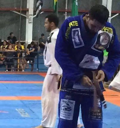 Felipe DDD conquista medalha na II Copa Kings de Jiu Jitsu