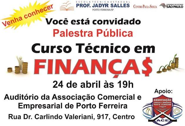 ETEC de Porto Ferreira realizará palestra de divulgação do